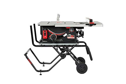 SAWSTOP 10-Inch Jobsite Saw Pro with Mobile Cart Assembly