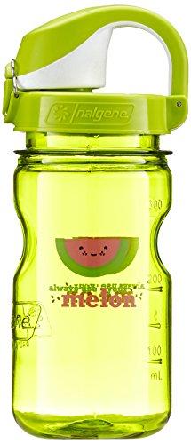 Nalgene Kinder Kunststoffflaschen \'Everyday OTF Kids\' Trinkflasche, Grün Melone, 0.375 L