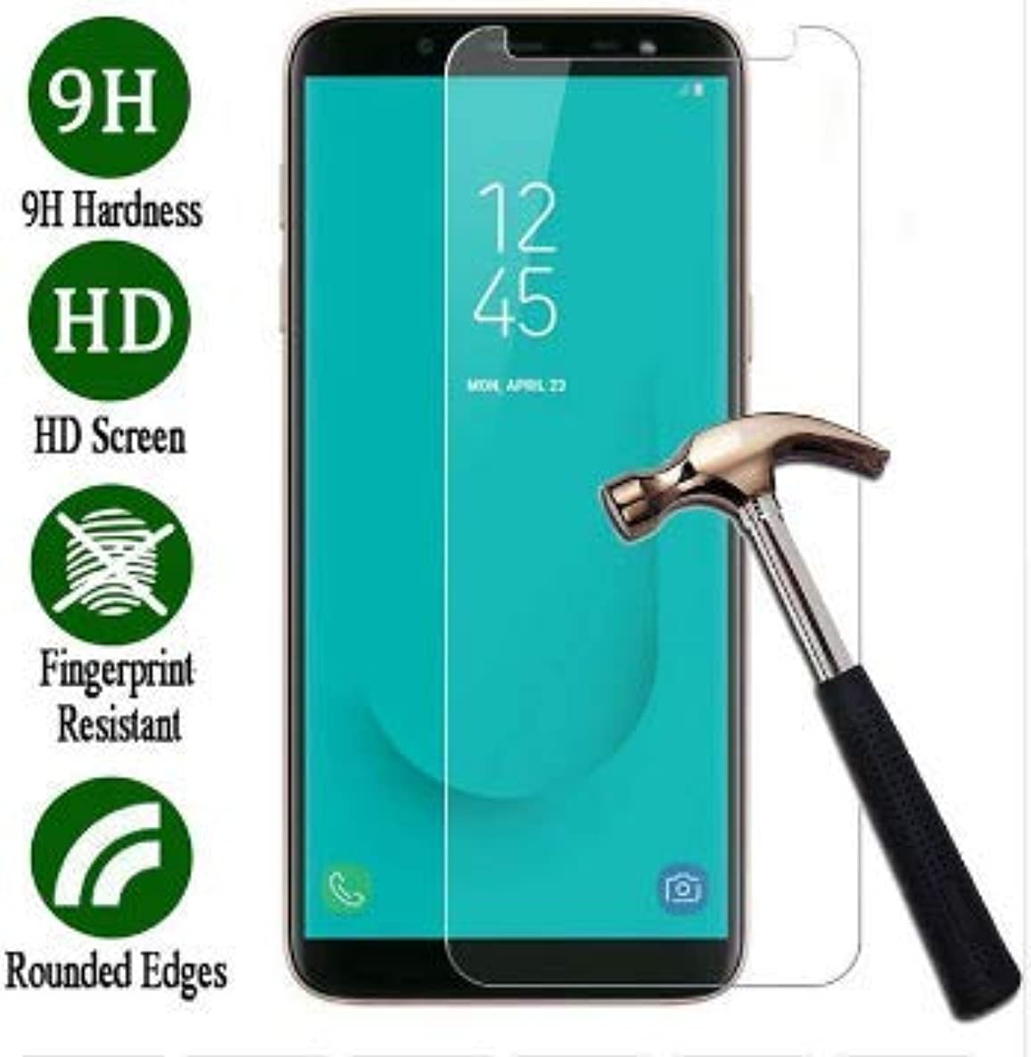 Skyline Screen Protector, Screen Guard, Tempered Glass for Samsung Galaxy j7 2018