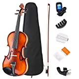 Best Beginner Violins - JMFinger 4/4 Full Size Vilion Set, Handcrafted Kids Review