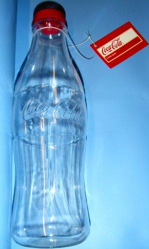Plastik Spardose, Sparbüchse. Coca Cola Flasche. 30 cm hoch- Neuheit.