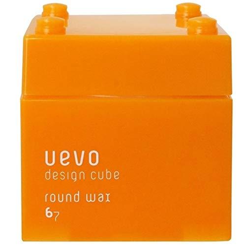 ウェーボ デザインキューブ (uevo design cube) ラウンドワックス 80g ヘアワックス