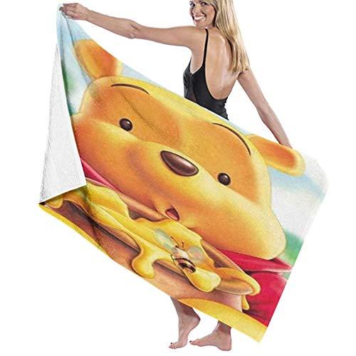 Custom made Winnie Ther Pooh - Toalla pestemal de calidad súper suave y altamente absorbente – Toalla de playa ideal para playa o como manta de 80 x 130 cm