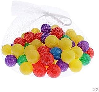 simhoa 300Pcs Ball Funny Baby Kids Swim Kid Pool Toys Soft Plastic Ball