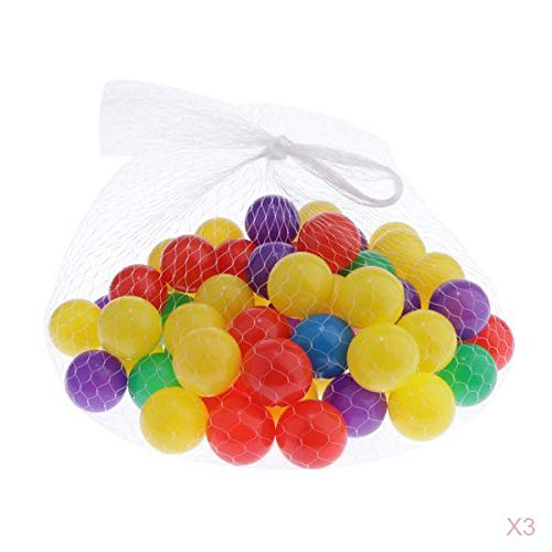 F Fityle 300pcs / Pack Bola de Piscina de Agua para Bebés 4CM Ocean Ball Pool Kids Party Toy