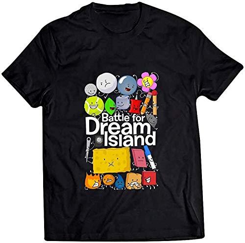 Battle for Dream Island - Camiseta unisex con capucha, sudadera, camiseta sin mangas, color negro