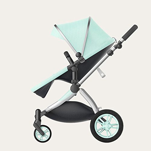 Find Bargain MEI Baby Trolley Baby Stroller High Landscape Two-Way Horizontal Stroller Portable Fold...