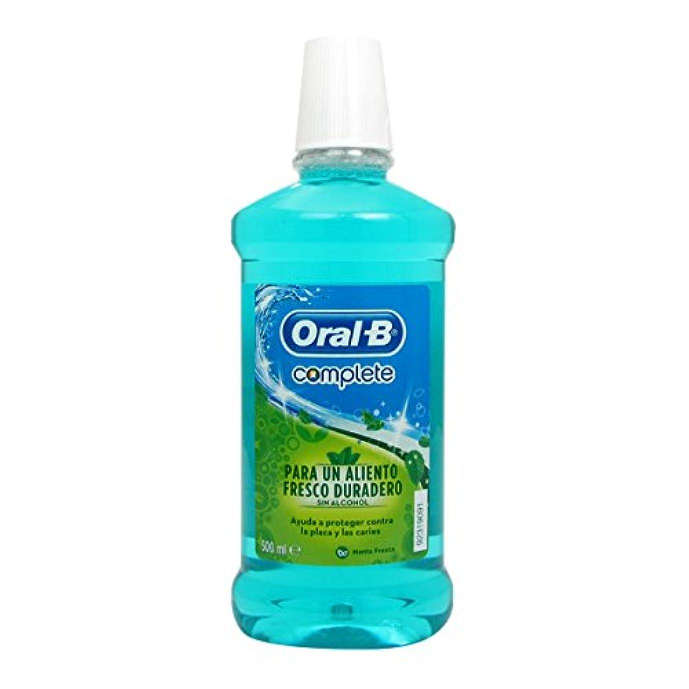 仮説お香長々とOral B Complete Fresh Mint Elixir 500ml [並行輸入品]