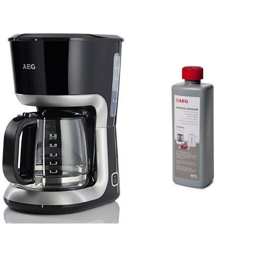 AEG KF3300 Kaffeemaschine (inkl. Entkalker, 1100 Watt, 1,5 Liter, Warmhaltefunktion) schwarz