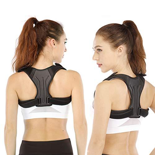 Posture Corrector for Men and Women, Invisible Upper Back Brace for Clavicle Support, Adjustable Back Straightener Correction for Spinal, Neck, Shoulder Back Pain Relief