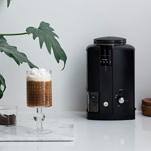Wilfa CD Automatic Electric Coffee Grinder Svart CGWS-130B, Black