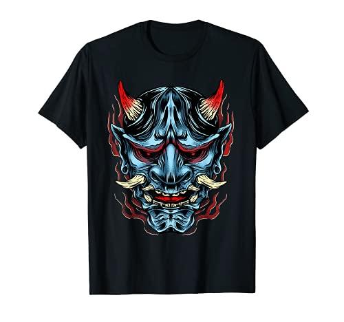 Máscara de Demonio Oni Camiseta