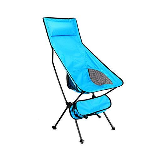 LIUQIAN Chaises de Camping Chaise Pliante d'extérieur Portable Ultra-Clair Lune Chaise Aviation en Aluminium Tabouret de pêche Loisirs Esquisse Chai