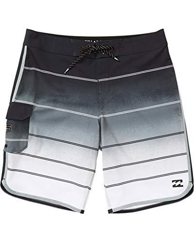 Billabong Boys' 73 X Stripe Boardshorts Stealth 3T