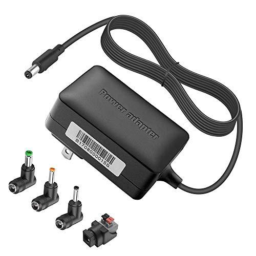 BENSN 12V Power Adapter Supply for Seagate/Western Digital External Hard Drive, Expansion SRD00F2, Backup Plus SRD0SD0, FreeAgent Pushbutton GoFlex Desk Dockstar Pro, WD My Book Av DVR Expander