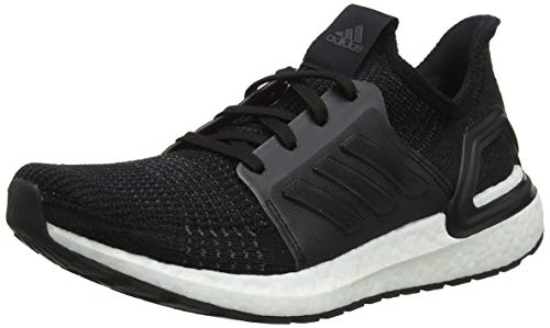 adidas Men's Ultraboost 19 M Running Shoes, Black (Core Black/Core Black/FTWR White Core Black/Core Black/FTWR White), 8 UK