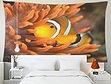Home Decor Tapestry, Tapices para Colgar en la Pared del hogar Arte para D & Eacute; Cor Dormitorio de la Sala de Estar en Acuario Marino