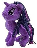 MLP My Little Pony - Caballo de peluche de 12 cm, para niños, niñas y niños, para coleccionar, acurrucarse y jugar (Princess Twilight Sparkle, lila)