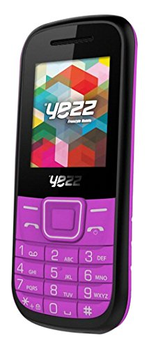 Yezz Yezz Bar Phone C21A Teléfono Móvil, Dual SIM, Color Rosa [Italia]