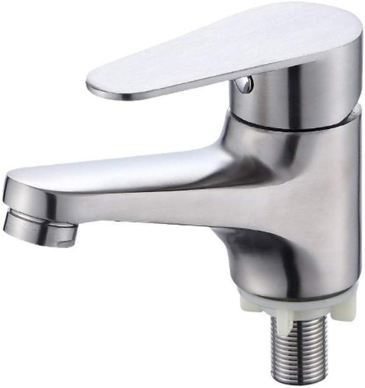 Wasserhahn Luxus Mixer Wasserhahn Tapsstainless Stahl Kaiser Bassin Einzelne Kaltwasserhahn Badezimmer Waschbecken Wasserhahn Badezimmer über Gegenbecken