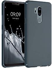 kwmobile telefoonhoesje compatibel met LG G7 ThinQ/Fit/One - Hoesje voor smartphone in leigrijs