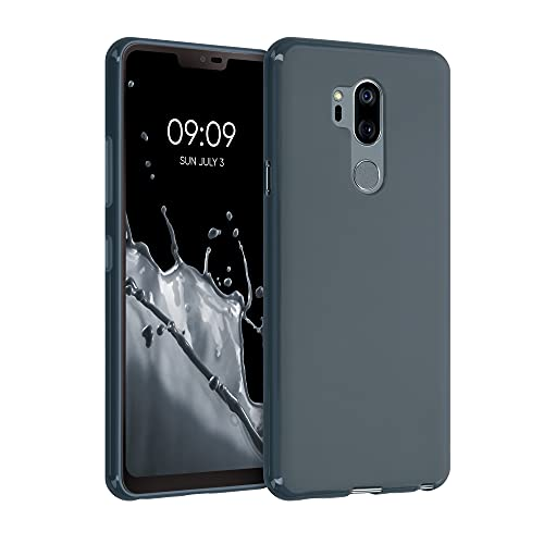 kwmobile Hülle kompatibel mit LG G7 ThinQ/Fit/One - Hülle Silikon - Soft Handyhülle - Handy Hülle in Slate Gray