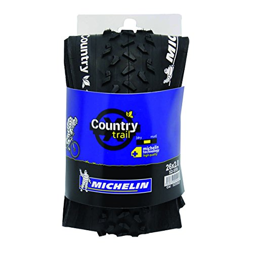 Michelin Country Trail - Cubierta, color negro, 26 x 2.00