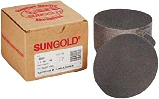 Sungold Abrasives 020082 5 120 Grit Psa Sanding Discs Silicon Carbide Cloth For Stone,  Glass And Marble,  Pack-50