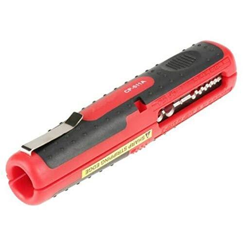 Lkk-kk Stripper de alambre eléctrico multifuncional SK5 SK5 Cable de acero Pintado de pluma Alicates para reparaciones de automóviles Remoción de sujeción (Color : Red)