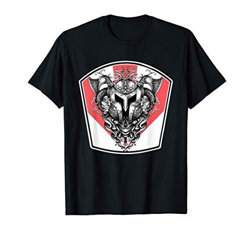 Wikinger Rüstung Helm Axt Wappen Tattoo Odin, Geschenk T-Shirt