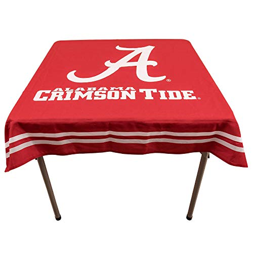 College Flags & Banners Co. Alabama Crimson Tide Logo Tablecloth or Table Overlay