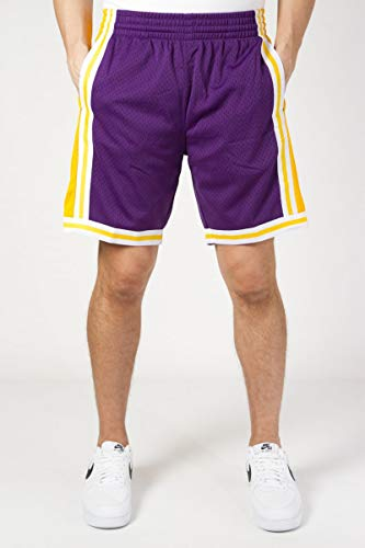 Mitchell & Ness Los Angeles Lakers 1984-85 Swingman NBA Shorts Lila, L