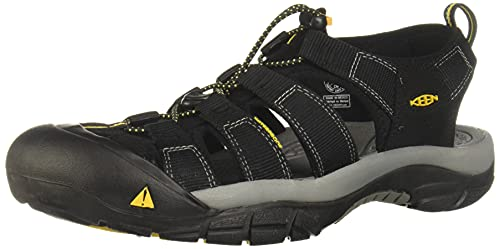 Keen Herren Newport H2 Sandalen Trekking-& Wanderschuhe, Black, 43 EU