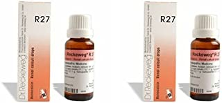 2 Lots X Dr.Reckeweg R 27 22Ml Homeopathic Medicine