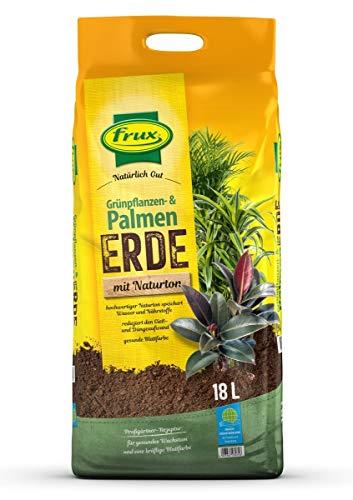 frux® Bio Grünpflanzen- & Palmenerde mit Naturton - 18 Liter
