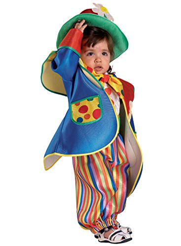 chiber Disfraces Disfraz de Payaso para Bebés (6-12 Meses)
