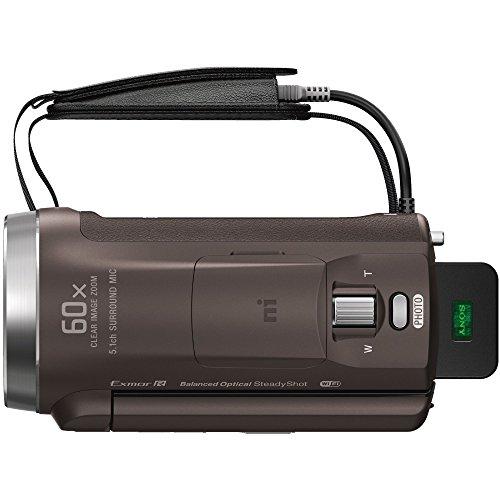 ソニービデオカメラHandycam光学30倍内蔵メモリー64GBブロンズブラウンHDR-PJ680TI