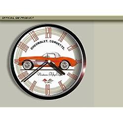 1958 Chevrolet Corvette Wall Clock A007