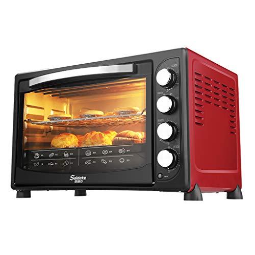 Oven WRJ@ Horno eléctrico de sobremesa, 2000W, 45 litros,4 Modos, Temperatura hasta 250ºC