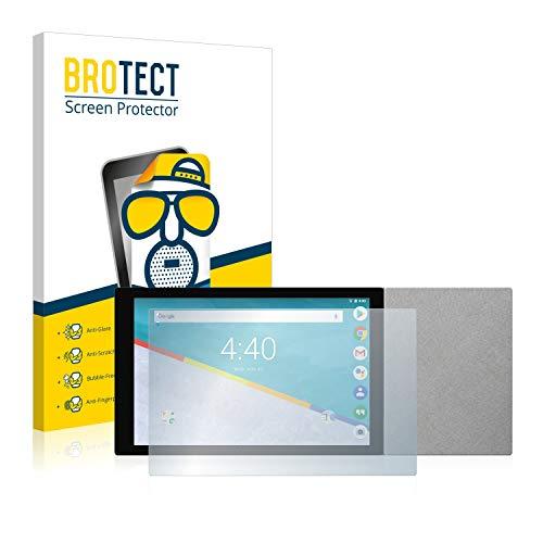 BROTECT 2X Entspiegelungs-Schutzfolie kompatibel mit Archos Hello 10 Bildschirmschutz-Folie Matt, Anti-Reflex, Anti-Fingerprint