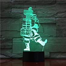 3D Light 3D Santa Claus Christmas Lamp Unique Kids Decorative Night Light with Custom Led Night Light Lamp