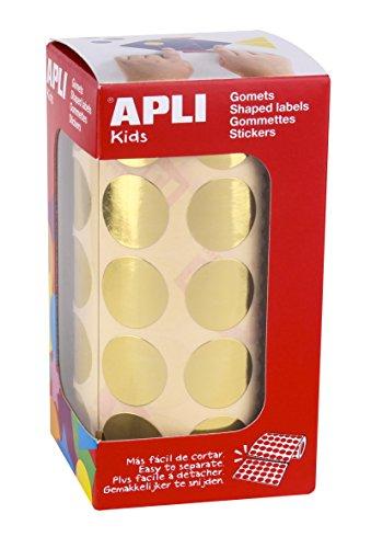 apli-agipa 44892/Disco Adesivo 8/mm tasca Set di 462/Verde