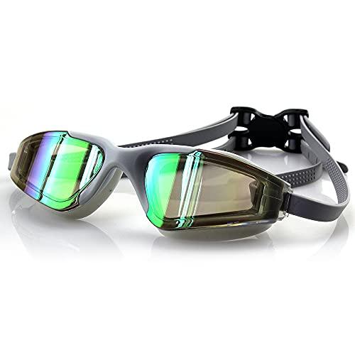Gafas de natación Gafas de buceo Gafas de natación sin fugas anti niebla adultos hombres mujeres jóvenes