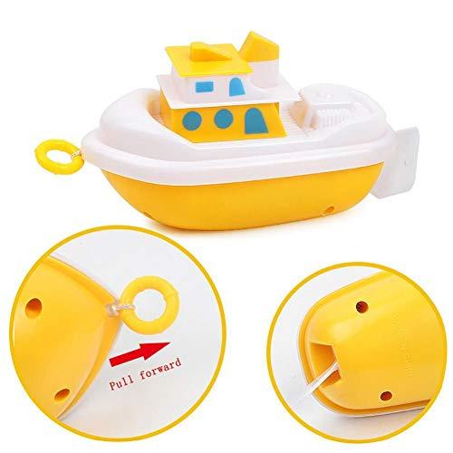 MACCF Baby Badespielzeug Baby Kinder Badespielzeug Tier Schwimmen Spielen Badewasser Spielzeug Fisch Schildkröte Boot Bad Cartoon Für Kinder Spielzeug