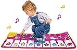 PIANO MAT, MUSH MATS Teclado Dancing Play Play Mat Mats Electronic Touch Play Manta Musical Alfombra Regalo Música Electrónica Music Play Manta con 8 Sonido de animales diferentes piano infantil XINRU