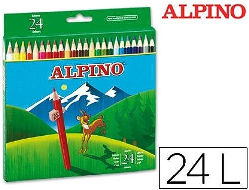 al precio mas bajo Alpino - Lapices de Colors Colors Colors 658 c  de 24 Colors largos (12 unidades)  exclusivo