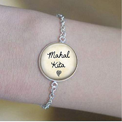 Mahal Kita Keychain - I Love You - Tagalog Philippines Keychain - Mahal Kita Key Ring - Filipino Quote - Pinoy Gift - Pinay Gift, Dance Recital Bracelets -Positive Message Jewelry