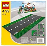 LEGO 4110 City Town Straight Road Plates