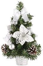 QXM Kerstboom 30 cm Nieuwjaar Tafeldecoratie Kunstmatig Tafelblad Mini Kerstboom Decoraties Miniatuur Boom