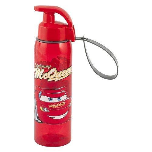 Lulabi Disney Cars Borraccia, Plastica, Rosso, 500 ml